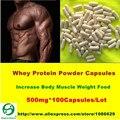 Чистый Сывороточный Протеин Порошок CAPS WPC80 Фитнес Пищевые Добавки Тела Увеличения Мышечной Массы