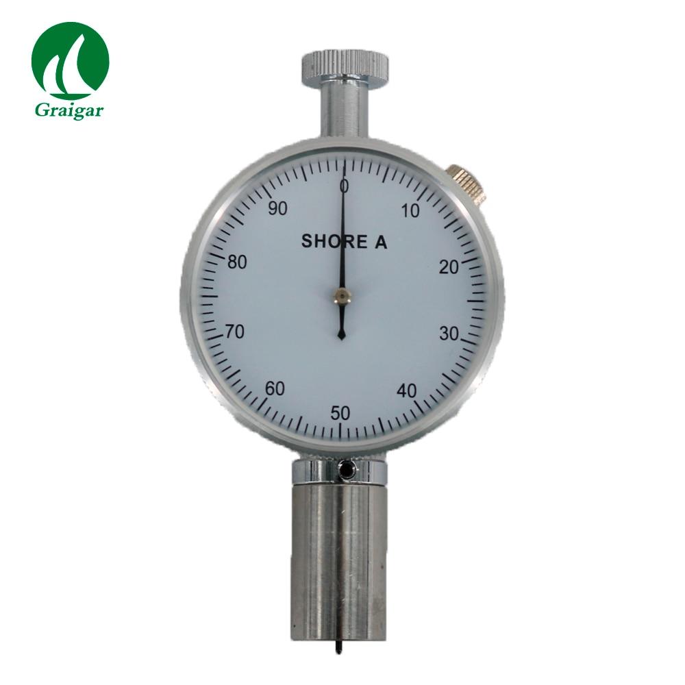 Micro Pointer Shore-A Hardness Tester Handheld Shore Durometer LX-A Measure range 10 ~90HA цена