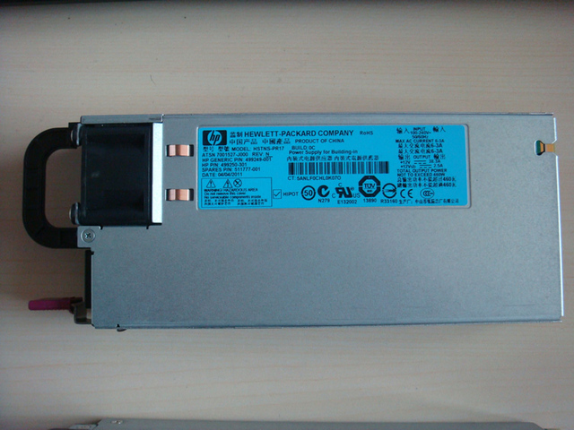 US $50 0 |For HP DL380 G6 G7 DPS 460EBA HSTNS PR17 HSTNS PD14 460W Power  Supply 511777 001 499249 001 499250 301 499250 201 499250 101-in PC Power