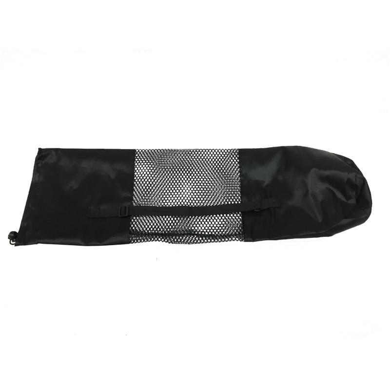 *New Yoga Mat Backpack Waterproof Bag Nylon Mesh  Yoga Pilates Mat Bag Carrier  Adjustable Strap Sport Tool*