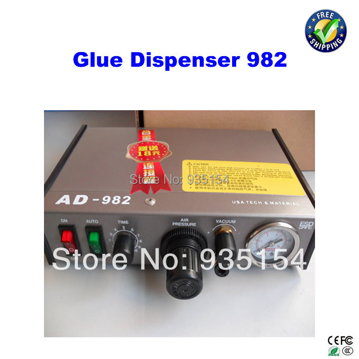 User-Friendly 982 SMT Glue Dispenser, Glue Dispensing Machine, Adhensive Glue Dispenser user