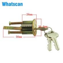 GULI дверной замок цилиндр для дома ворота спальня ванная комната отель офисная дверь фурнитура Замена аксессуары DIY с 2 ключами