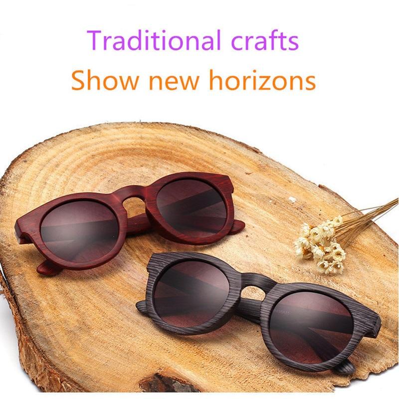 5bf1c1b6012 Vintage Texture Wood Sunglasses brand sunglasses women glasses UV400  fashion designer girls glasses Oculos De Sol Mascu-in Sunglasses from  Apparel ...