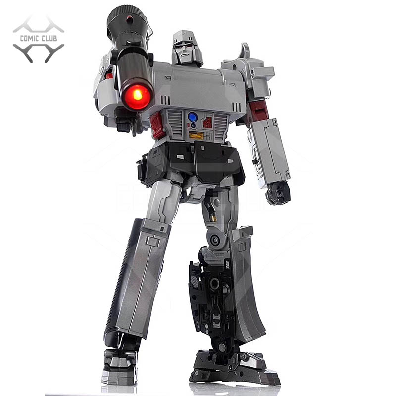 COMIC CLUB WEIJIANG Transformation G1 OP Commander oversize MP36 MPP36 Alloy Metal parts contain light Action