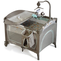 New baby game bed exit folding portable baby play bed