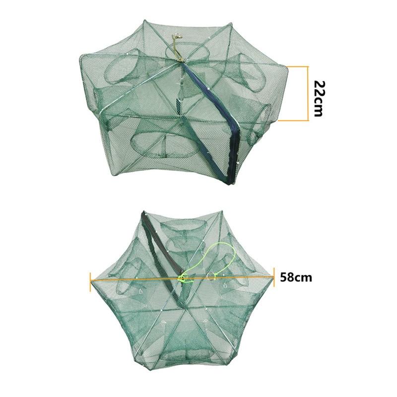 Fischernetz Net Fisch Elritze Shrimps Krabbe Netz Falle Käfig Hohe Qualität