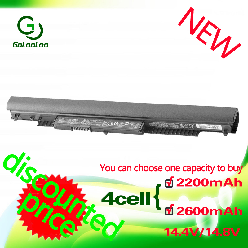 Golooloo 14.4V 4CELL HS04 Laptop battery for HP Pavilion  HSTNN-LB6V 14-ac0XX 15-ac0XX 255 245 250 G4 240 HS03 hstnn lb6vGolooloo 14.4V 4CELL HS04 Laptop battery for HP Pavilion  HSTNN-LB6V 14-ac0XX 15-ac0XX 255 245 250 G4 240 HS03 hstnn lb6v