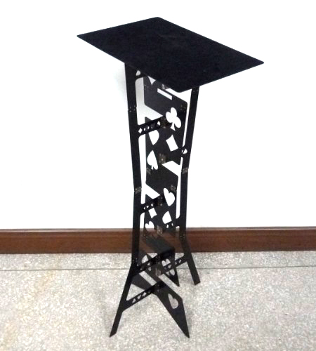 Free Shipping Alluminum Alloy Magic Folding Table,black Color,Magicianu0027s Best  Table,magic Trick,stage,illusions,Accessories