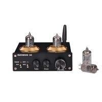 MIAOLAI M8 nobsound audio amplifier 2.1 6J1 tube amplifier class d mini power bluetooth amplifier power amplificador audio