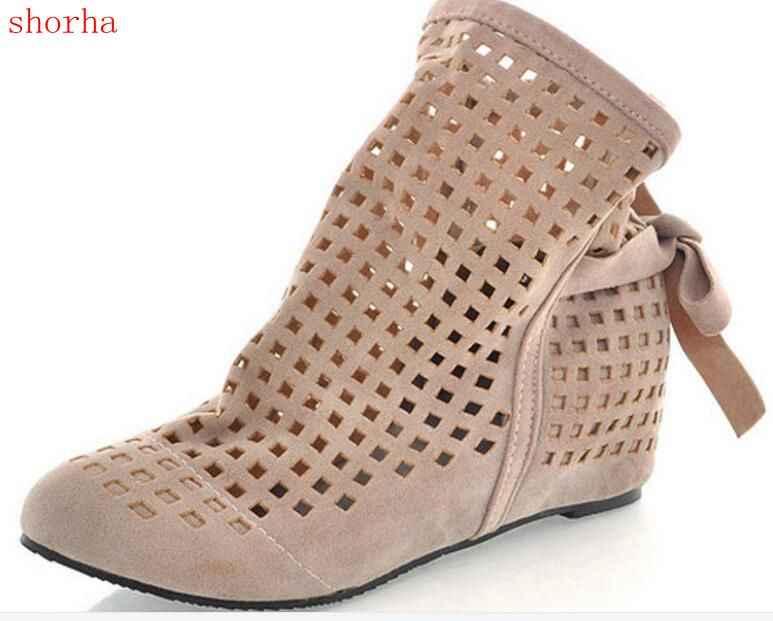 8bf8d06f5 Размер 34–43 женские ботинки красивые летние однотонные текстильные  ботильоны на плоской подошве на скрытой
