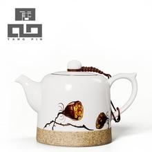Tangpin 2016 neue ankunft handbemalte keramik teekanne wasserkocher porzellan chinesischen kung fu teekannen freeshipping