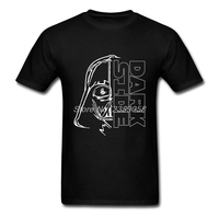 T-Shirts Mens Star War Short Sleeve The Dark Side Clothing Blank Cheap Price Luxury T Shirt Man Camisetas