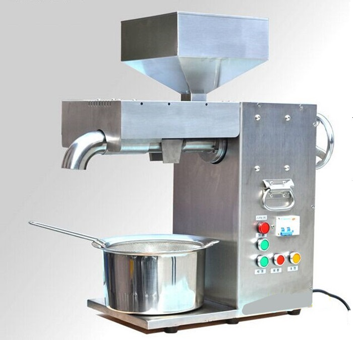 ZYJ-10 Commercial Coconut Oil press machine Peanut Oil presser Stainless steel Food processor wavelets processor
