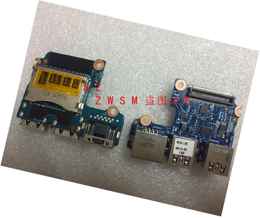 Genuine New For HP PROBOOK 640 G1 645 G1 6050A2566901 genuine original laptop USB interface board and network interface board