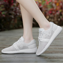 Summer 2019 Women Casual Shoes Mesh Fashion Sneakers Solid Lace-Up Breathable Shallow Ladies Shoes Platform Shoes Soft Bottom 2018 new soft bottom lace up women s shoes breathable net surface student sport shoes ladies causal shoes small wihte shoes