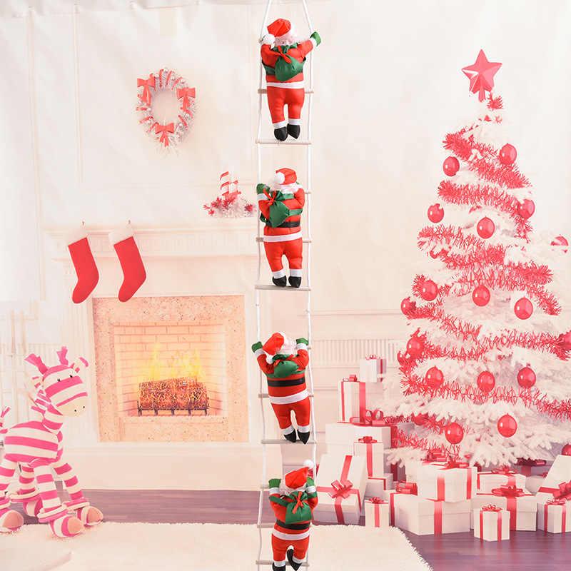 Christmas Crafts 2019.2018 Noel Christmas Decorations For Home Santa Merry Xmas