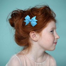 20pcs/lot 5.5cm Girls Boutique Pinwheel Bows With Whole Wrapped Safety Hair Clips Cute Hairpins Hair Accessories цена