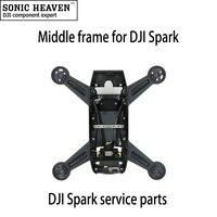Spark Orta Çerçeve Onarımı DJI Spark Quadcopter Drone için Vücut Kabuk Replacment Servis Parçaları Aksesuarları