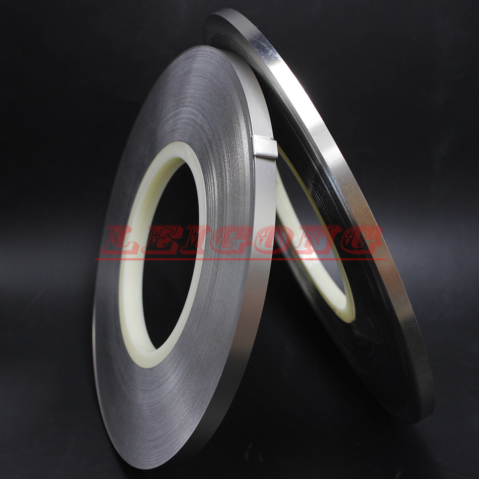 thickness 0 2mmx8mmx1kg Pure Nickel Plate Strap Strip Sheets 99 96 for battery spot welding machine