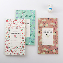 Cute Kawaii Flower Notebook Notepad Journal With Lined Paper For Kids Stationery Gift School Supplies Free Shipping 2385(China)