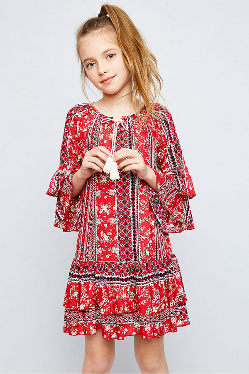 Popular Casual Floral Dresses for Juniors-Buy Cheap Casual Floral ...