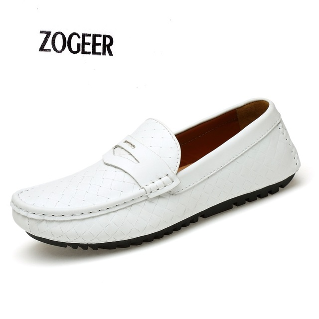 Handmade Loafer Winter Warm Soft Moccasin Casual Men Loafers EU38-47 Genuine Leather Mens Flats Gommino Driving Shoe Male Oxford