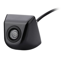 New 170 Wide Angle Electroplated Car Rear View Camera High Waterproof  IP67 Reverse Parking Camera Night Vision for Vehicles