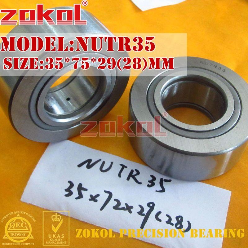 ZOKOL bearing NUTR35 Roller Cam Follower Bearing 35*75*29(28)mm мужская сумка carlo gattini vertelle 1012 1012 04