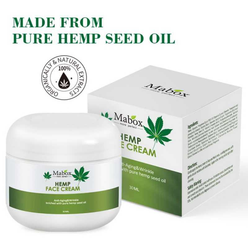 Natural Organic Hemp Seed Oil,Vitamin C,E Facial Moisturizer