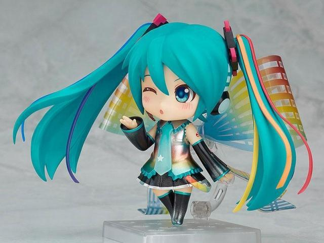 Anime Hatsune Miku Nendoroid Miku 831# Tenth Anniversary commemorate ver. PVC action figure collection model toy 1