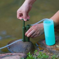 Ourpgone Lightweight Water Filter Outdoor Purify Pump Survival Hiking Camping Environment Friendly Purifier Tool+Free shipping!