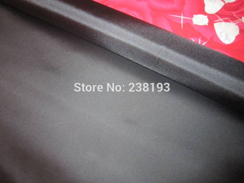 Cheap 600D Thick Glossy Black Oxford Cloth, PU Coated Oxford, Strong, Wear-resistant Cloth.outdoor Bags Fabric