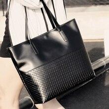Mode Frauen Handtasche PU Öl Wachs Leder Frauen Tasche Große kapazität Tote Bag Big Damen Umhängetaschen Berühmte Marke Taschen Feminina
