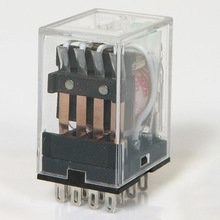 [SA] Kaikun какон реле 3A HR705-4PL DC12V/24 В AC110V/AC220V с светильник 4a4b-10 шт./лот