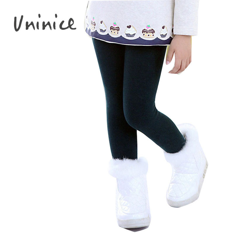 Children warm pants clothes trousers for girls leggings ...