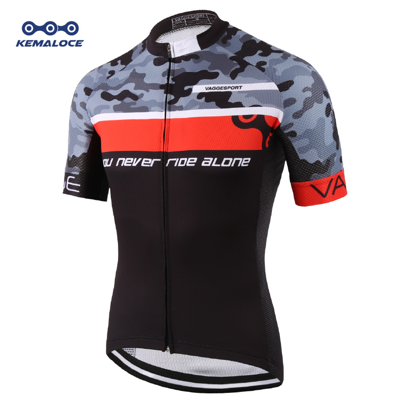 KEMALOCE Team 2019 Pro Tour Crane Race Cycling Jersey China Original Cycling Shirts Wear Men Equipment Professional Bike Jersey