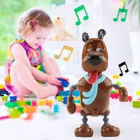 Smart Pet Robot Dog Voice Sound Control Interaction Kids Birthday Toy Gift for kids