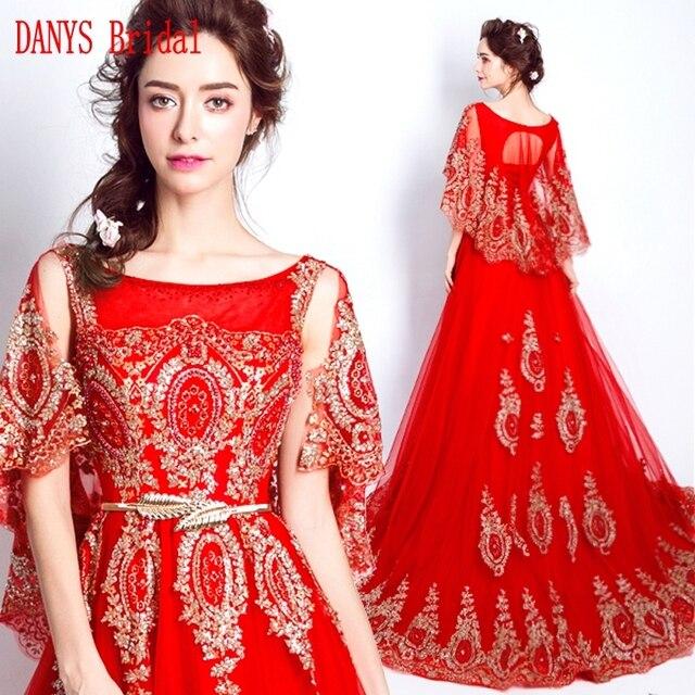 6e4d9db551db0 Robes de soirée longues rouges avec Cape en vente robes de soirée formelles  turques
