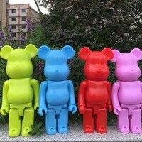 الجملة الرخيصة جديد لعب للأطفال 28 سنتيمتر pvc عمل أرقام 400% نماذج diy بلوك دمى bearbrick juguetes أنيمي Dj040