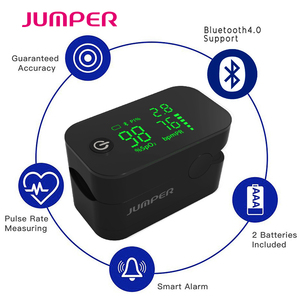 Image 3 - אלחוטי Bluetooth אצבע דופק Oximeter HD LED תצוגת אצבע Pulsioximetro אנדרואיד iSO טלפון APP Oximetro דה pulso דה dedo