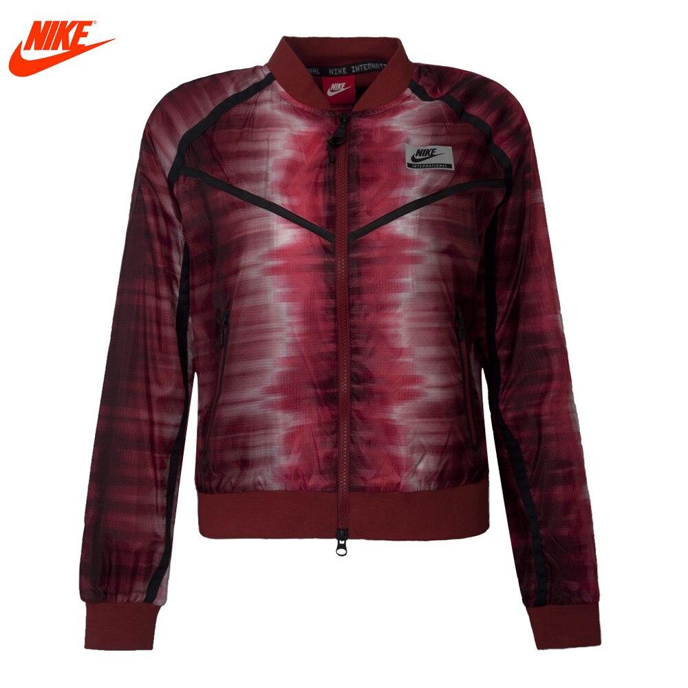 Nike Original Womens winter ourdoor windproof FZ AOP <font><b>jacket</b></font>