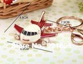 Alloy Plane key chain K0004