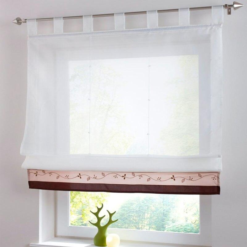 New Bamboo Porta Ricamato cucina romano splice tende per finestre ...