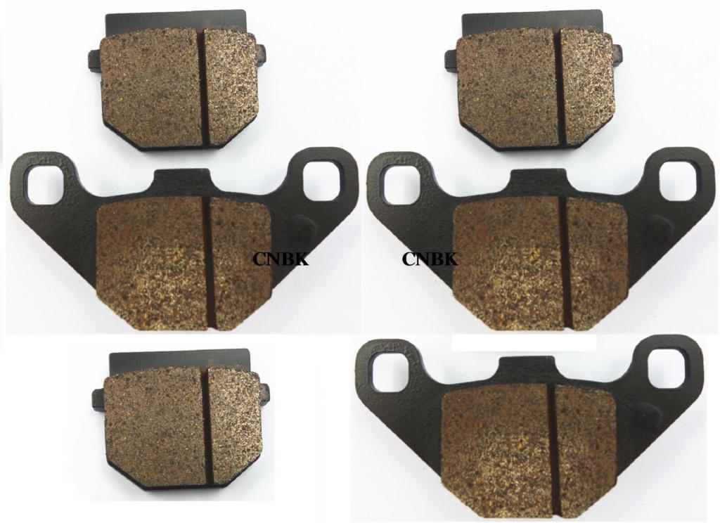 SEMI METAL FRONT OR REAR BRAKE PADS FOR ADLY 300 Crusader Quad 05-07