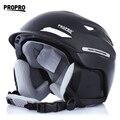 Горячие Продажи цельный Лыжный Шлем 2 Цвета Модные Ветрозащитный Катание На Лыжах Шлем С Внутренним Регулируемой Пряжкой Лайнер Подушки Слоя