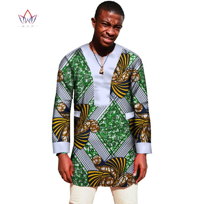 Buy 2017 african print shirt men 6xl t for Top dress shirt brands