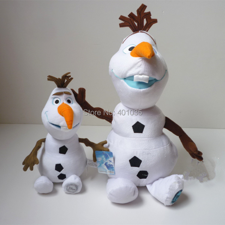 50cm Kid's Cartoon Olaf Plush Toy Dolls kawaii snow man Stuffed Toys brinquedos - Pop toys store