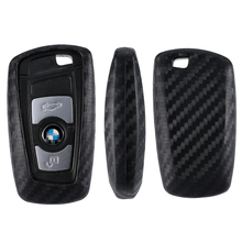 For Bmw 1 3 5 7 Series X1 X3 X4 X5 X6 M3 M5 Z4 F20 F30 F10 E90 E60 E30 Car key Shell Protecor Car Key Case Cover Carbon Fiber 4 buttons car key cover fob remote shell case for bmw f10 f20 f30 f40 5 7 series m15