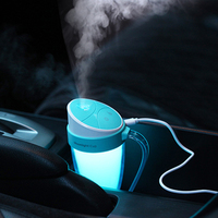 110ML Humidifier Aromatherapy Diffusers Colorful LED Humidifier For Home Office School Car Humidifiers Mist Maker