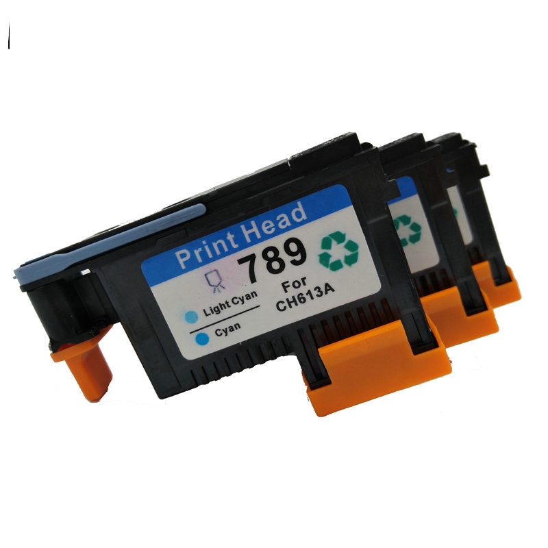 vilaxh 1Set 789 Compatible for <font><b>hp</b></font> 789 <font><b>Printhead</b></font> For <font><b>HP</b></font> DesignJet <font><b>L25500</b></font> Printer CH612A CH613A CH614A 789 designJet Print head image